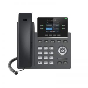 GRP2612P, 2 SIP 4 line IP Phone 1Gbps 2.4inc LCD color with PoE